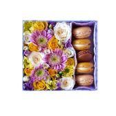 Цветочная композиция в коробке «Очарование»