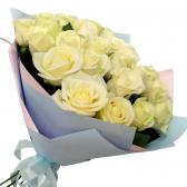 """21 белая роза """"Яника"""""""