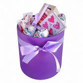 """Шляпная коробка со сладостями """"Симона"""""""
