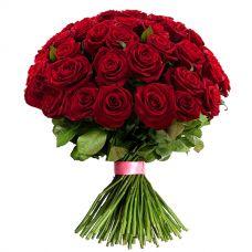 """51 красная роза """"Фламенко"""""""