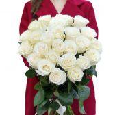 """Букет белых роз """"Моей Мисс"""""""