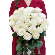 """Букет білих троянд """"Моїй Міс"""""""