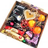 Подарочная коробка к Новому Году