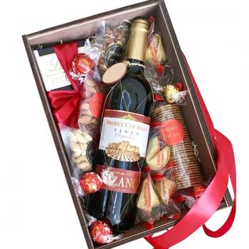"""Подарочная коробка """"Рresent for you"""". annetflowers.com.ua. Купить подарочную коробку """"Рresent for you"""""""