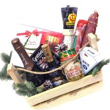 """Подарунковий дерев'яний ящик """"До Нового року"""""""