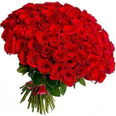 """Букет 101 червона троянда """"Моніка"""""""