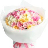 """Большой букет роз """"Микс для любимой"""""""