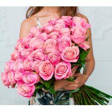 "51 розовая роза импорт ""С Любовью"""