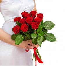 """Букет из 11 красных роз """"Любимой"""""""