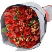 """Букет из 11 красных роз """"День Влюбленных"""""""