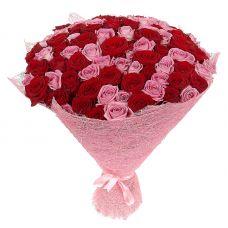 """Букет из 51 розы """"Шик"""""""