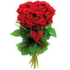 """Букет из длинных красных роз """"Торжественный момент"""""""