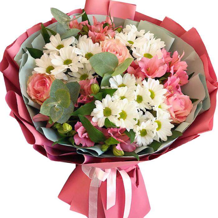 Букеты день, заказ букетов из роз и хризантем с доставкой