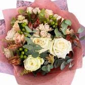 """Букет из 25 роз """"Аврора"""""""