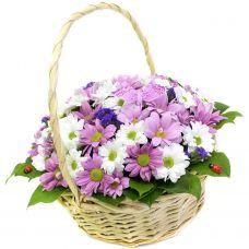 """Кошик квітів """"Лариса"""""""