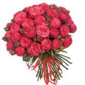 """51 пионовидная роза """"Red Piano"""""""