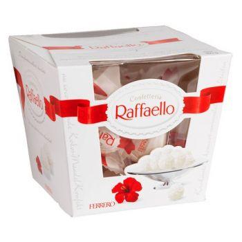Цукерки Raffaello. annetflowers.com.ua. Купити цукерки Рафаелло з доставкою в Києві