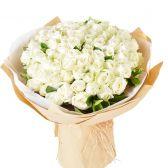 "35 белых роз ""Надежда"""