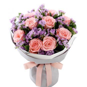 """Букет роз """"Алена"""". annetflowers.com.ua. Доставка роз на дом и офис"""