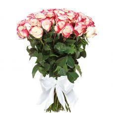 """Букет 51 длинная розовая роза """"Флоренция"""""""