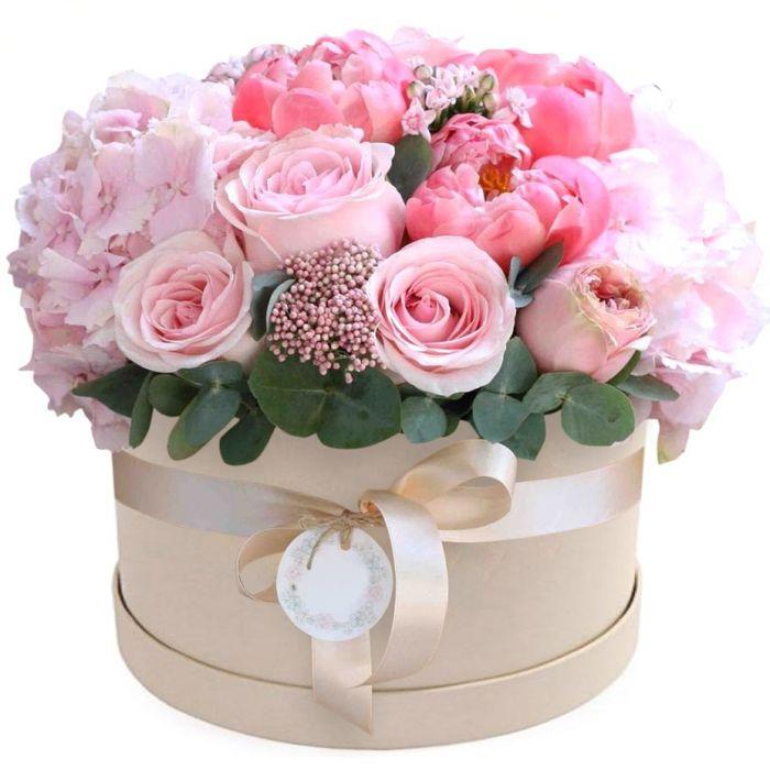 отдыхающие неуверенным открытки с днем рождения с цветами в шляпной коробке фото говоря