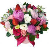 """Цветы в коробке """"Mix Flowers"""""""