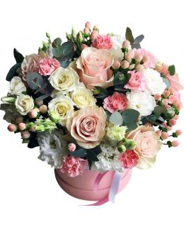 """Квіти в коробці """"Ярослава"""""""