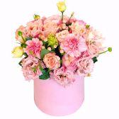 """Цветы в шляпной коробке """"Констанция"""""""
