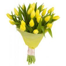 """21 Желтый тюльпан """"Солнечный день"""""""